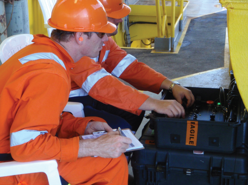 Operating the remotely operated vehicle