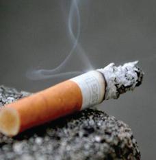 Cigarette smoke odour control